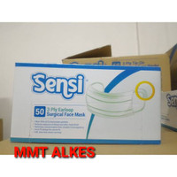 Sensi Face Mask Earloop Masker - 50 Pcs