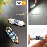 Lampu Led Plafon Kabin Sunvisor Skeleton 3 Titik 3030 31 mm Festoon
