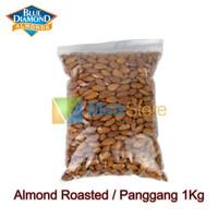 Kacang Almond Panggang Blue Diamond Roasted 1kg