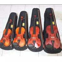 Biola/Violin Impor Ukuran 1/2/3/4 merek Rosewood - Tiga per Empat