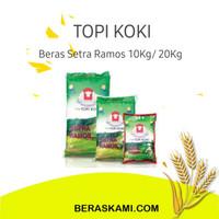 Beraa Topi Koki / Setra Ramos/ beras pulen / topi koki murah - 10Kg