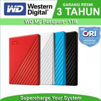 WD My Passport 1TB - HD HDD Hardisk Eksternal External 2.5 USB 3.0