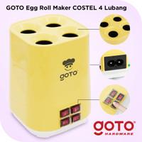 Goto Costel Mesin Sosis Telur Sostel Listrik Egg Roll Maker 4 Lubang