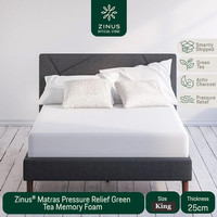 Zinus® Kasur 25cm Green Tea Memory Foam - Ukuran King