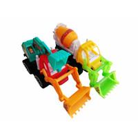 Mainan Truk Beko Molen Konstruksi Multiwarna