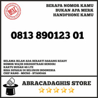 Nomor Cantik Simpati Telkomsel 4G LTE Seri Naik 8 9 10 #ab165