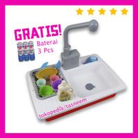 MAINAN ANAK PEREMPUAN - Mainan Cuci Piring Anak Keluar Air, Anak Cewek