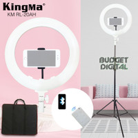 LED Ring Light Kingma 20 Inch Support Bluetooth Remote + Stand