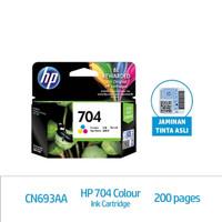 HP 704 Tri-color Original Ink Advantage Cartridge (CN693AA)