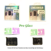 Samsung Note 20 / Note 20 ULTRA 3D Full Camera Lens Tempered Glass