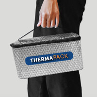 ThermaPack Insulated Bag | Tas Aluminium Foil Hot Cool Bag - XS
