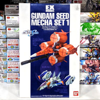 EX Model Gundam Seed Mecha Set 1 Moebius Zero & Sky Grasper