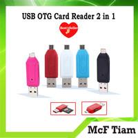 USB OTG Card Reader 2 in 1 Samsung Toshiba (Transfer Data)
