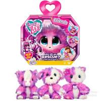 Boneka Plush Pink Little Live Pets Scruff a Luv Kuda Poni Kitty Pup