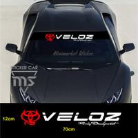 sticker veloz stiker mobil toyota avanza veloz kaca racing development
