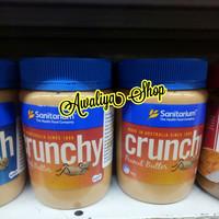 Sanitarium Peanut Butter Crunchy 500g / Selai kacang