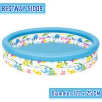 Kolam Renang Anak Bestway 51009 Uk 122cm X 25cm