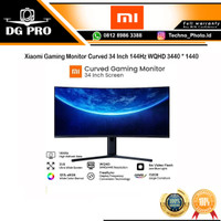 TV LCD Xiaomi Gaming Monitor Curved 34 Inch 144Hz WQHD 3440 1440