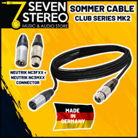 Sommer Cable Club Series MKII XLR - XLR With Neutrik Connector 3 Meter
