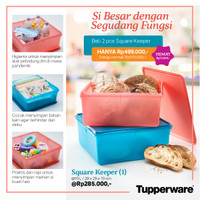 Tupperware Jumbo Box 10 Liter Promo