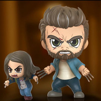 HOT TOYS HT COSBABY COSB792 LOGAN AND X-23