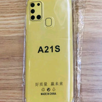 Softcase jelk Anticrack Samsung A21s Softcase Jeli Samsung a21s