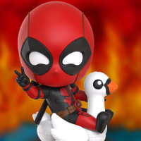 HOT TOYS HT COSBABY COSB788 DEADPOOL WITH POOL FLOAT