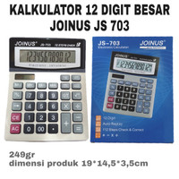 KALKULATOR 12 DIGIT JOINUS JS-703