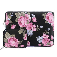 Tas Laptop New Macbook Air / Pro Sleeve Mosiso free Pouch 13 inch