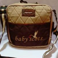 tas bayi diaper bag busui botol susu popok Baby Scots medium murah