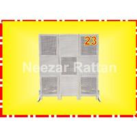 Sketsel 3 pintu, no 23 TANPA RODA. Pembatas Penyekat Partisi Ruangan