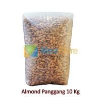 10kg Kacang Almond Panggang Kupas Roasted