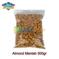 Kacang Almond Mentah Kupas Utuh Blue Diamond 500gr