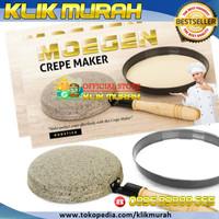 Asli Crepe Maker Marble Moegen - Creamy