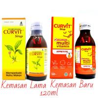 Curvit Multivitamin120ml - Vitamin Nafsu Makan Anak