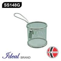 IDEAL SS148G Saringan Shabu / Hotpot Strainer Stainless Diameter 9Cm