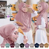 Hijab Aqila Daily Serut by Raqumi | Hijab Terbaru 2020