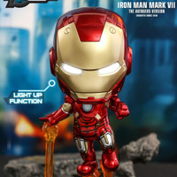 HOT TOYS HT COSBABY COSB782 IRON MAN MARK 7 THE AVENGERS VERSION