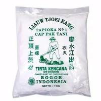 Tepung LIAUW TJOEI KANG Tapioka Cap Pak Tani 1KG / Tepung Sagu