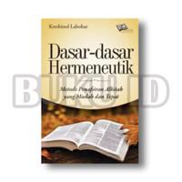 Buku Dasar-dasar Hermeneutik, Metode Penafsiran Alkitab yang Mudah