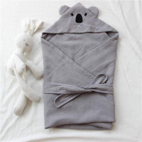 Selimut Topi Bayi Hoodie Blanket - Koala