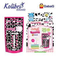 Gabag - Kantong Asi Kolibri Classic 120 ml Milky Cow - Kantong S