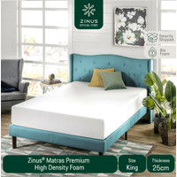 Zinus® Kasur 25 cm Premium High Density Foam - Ukuran King