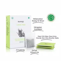 Herbilogy Laxa Tea - Teh Pelangsing Aman BPOM