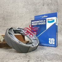 BRAKE SHOE - KAMPAS REM BELAKANG VARIO / BEAT BENDIX MS6