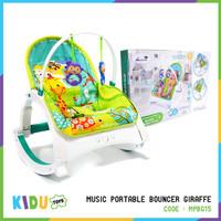 Mianan Anak Bayi Music Portable Bouncer Giraffe