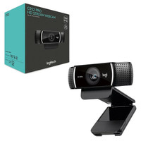 LOGITECH WEBCAM C922 PRO - WEBCAM C 922 PRO STEAM HD 1080P ORIGINAL