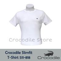 Kaos Polos Slim Fit Crocodile Artikel 511-818 - S