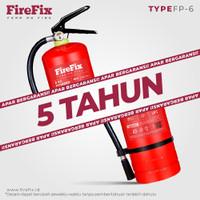 FIREFIX FP6 Powder 6 Kg Tabung Alat Pemadam Api Ringan APAR Kebakaran