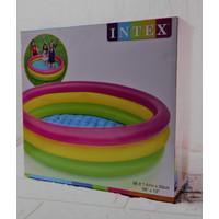 Kolam Intex Renang anak mandi Bola Uk 1.14mx25cmKolam mandi anak pelan